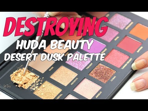 Desert Dusk Eyeshadow Palette by Huda Beauty #3