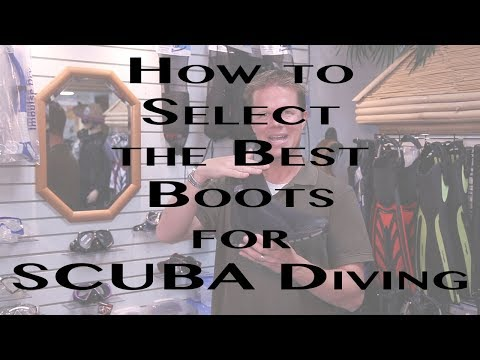 How to Choose the Right Boots for SCUBA Diving
