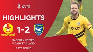 Hubble & Ronto Heroes For The Gulls | Banbury United 1-2 Canvey Island | Emirates FA Cup 2020-21