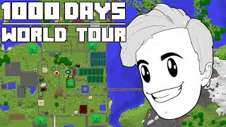 Luke TheNotable's Hardcore Minecraft 1000 Day World Tour + Download + Seed
