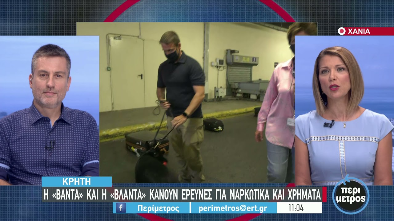 Τα αστυνομικά σκυλιά …έπιασαν δουλειά στο αεροδρόμιο | 16/9/2021 | ΕΡΤ