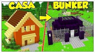 TRASFORMIAMO LA MIA CASA IN BUNKER INDISTRUTTIBILE! - Minecraft ITA