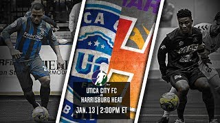 Utica City FC vs Harrisburg Heat