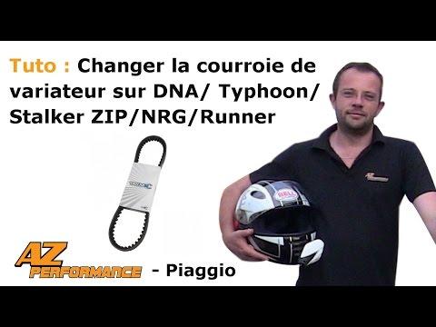 Changer la courroie de variateur de son Typhoon / Stalker / Zip / ...
