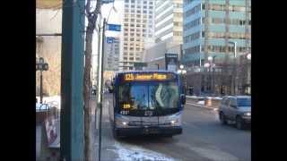 Edmonton Buses: Lights of My Hometown