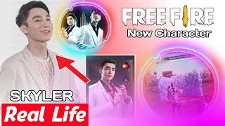 Free Fire Skyler Character Real Life | Skyler Character Lifestyle | Skyler Character Biography 2021