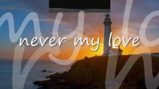 Never My Love by The Association with Lyrics - YouTube