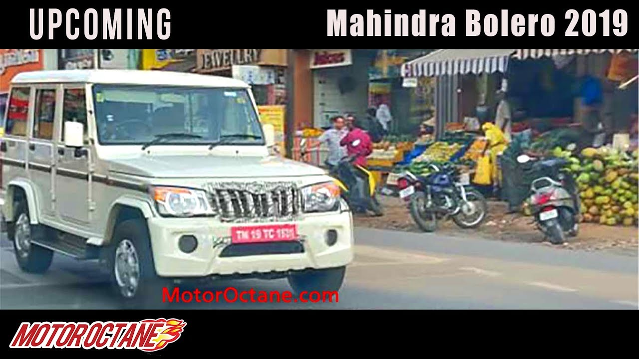 Motoroctane Youtube Video - Mahindra Bolero 2019 Coming | Hindi | MotorOctane