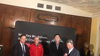 The Unveiling ceremony for the release of 2019 China Blockchain industry development report