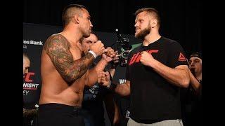 UFC Sydney: Melhores momentos da pesagem