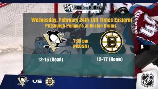 Free NHL Picks & Odds February 24 2016