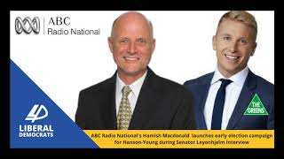 Radio National's Hamish Macdonald Interrogates David Leyonhjelm