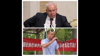Хакасия. Дебаты, Коновалов против Зимина