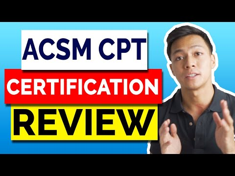 ACSM personal trainer certification (CPT) Review in 2021 - Exam ...