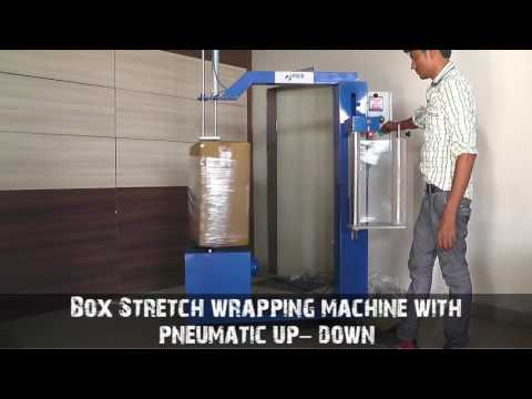 Mini Stretch Wrapping Machine With Pneumatic Up-Down