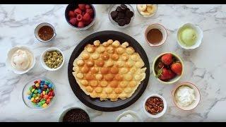 Waffle Puff Pan Video