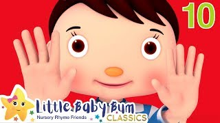 Ten Little Fingers Song! +More Nursery Rhymes & Kids Songs - ABCs and 123s | Little Baby Bum