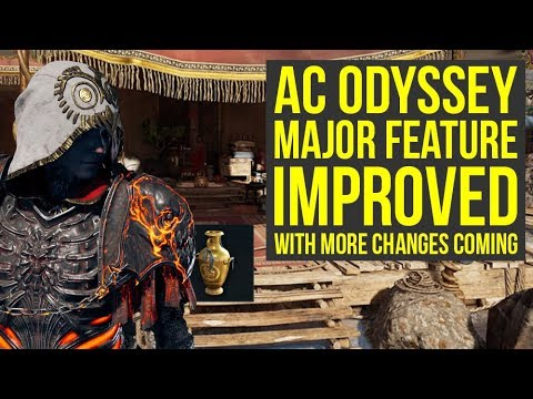 Assassin's Creed Odyssey MAJOR SYSTEM Improved With More Changes Coming (AC Odyssey