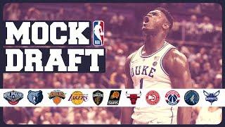 MOCK DRAFT NBA 2019 | PRIMERA RONDA COMPLETA