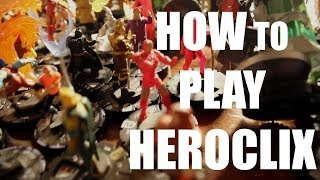 How to Play Heroclix 2014 Best Tutorial HD