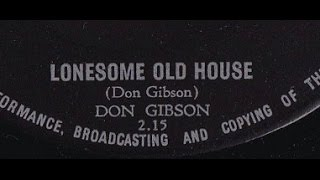 "Don Gibson ""Lonesome Old House"" 1959"