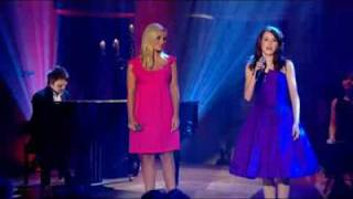 Faryl Smith & Katherine jenkins singing Amazing Grace
