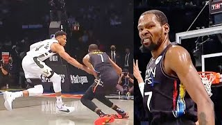 Kevin Durant Crosses Giannis & Destroys Entire Bucks With Nets In Game 2! Nets vs Bucks