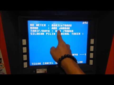 Cara Mudah Membeli token listrik lewat ATM BNI