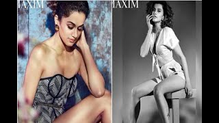 In Graphics: IN PICS: Taapsee Pannu hot photoshoot for MAXIM