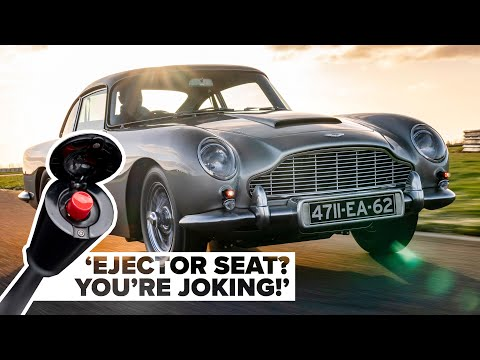Aston Martin Goldfinger DB5: We Drive Bond's Most Famous Car And Use All The Gadgets! Carfection 4K