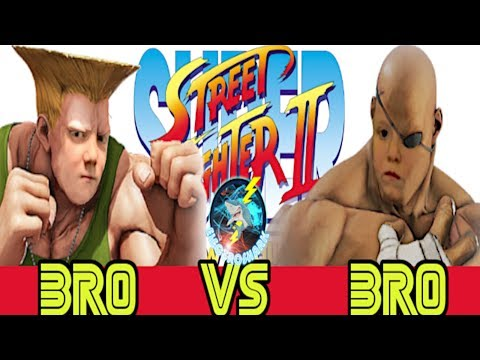 Sibling Rivalry 3 - Bro Vs Bro on Street Fighter 2 The New Challengers