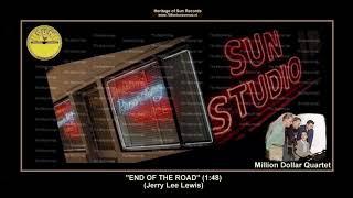 (1956) Sun ''End Of The Road'' Million Dollar Quartet