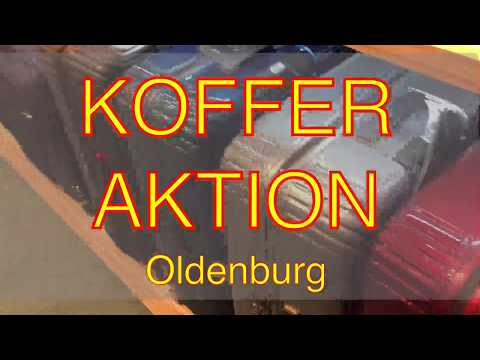 gute Koffer günstig kaufen - günstige Trolleys beim Räumungsverkauf Umbau Oldenburg Leder Holert
