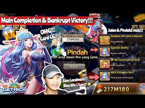 GAMEPLAY S+ AWAKEN NIRVANA!!! CARD GG!!! | LINE LET'S GET RICH INDONESIA