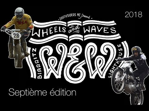 ENDURO VINTAGE : Wheels & Waves 2018