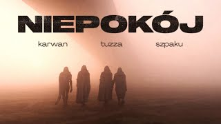 Kadr z teledysku Niepokój tekst piosenki Karwan feat. Tuzza & Szpaku