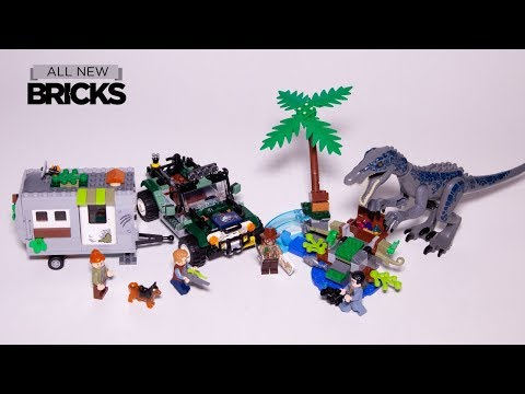 Vidéo LEGO Jurassic World 75935 : L'affrontement du baryonyx : la chasse au trésor