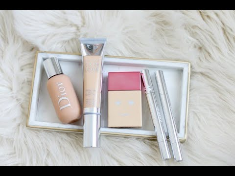 FOUNDATION REVIEW! DIOR BACKSTAGE FOUNDATION, BECCA SKIN LOVE AND BENEFIT HELLO HAPPY