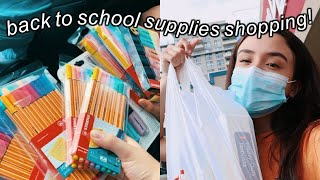 BACK TO SCHOOL SUPPLIES SHOPPING 2020!