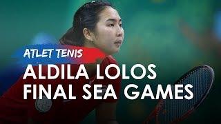 Petenis Indonesia Tembus Final Sea Games 2019, Aldila: Senang Bisa Tembus Final