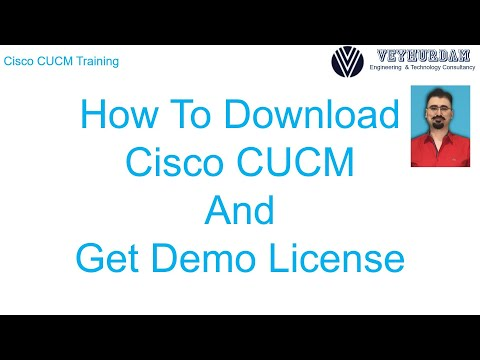 How to Download Cisco CUCM and Get Demo License - YouTube