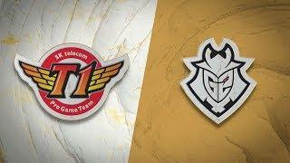 SKT vs G2 | Semifinal Game 1 | World Championship | SK Telecom T1 vs G2 Esports (2019)