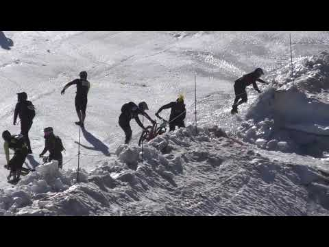 The Mountain Of Hell Glacier Race Crash