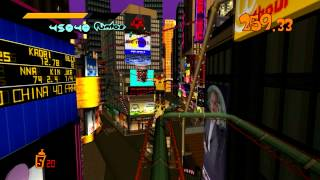 preview picture of video 'Jet Set Radio - Jet Technique Grind Square - Jet ranking Beat'