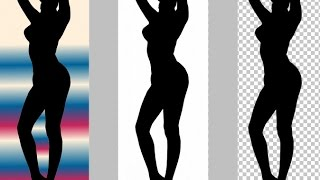 Фотошоп Photoshop онлайн. Делаем прозрачный фон за 1 минуту