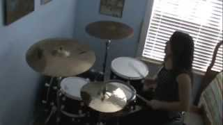 Watch It Burn - Disciple drum cover