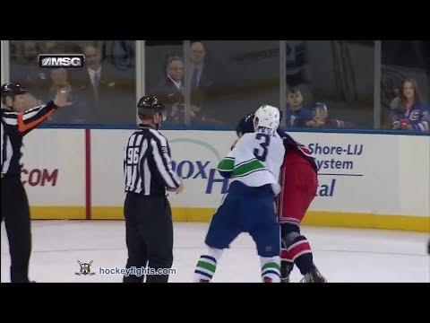 Brian Boyle vs. Kevin Bieksa