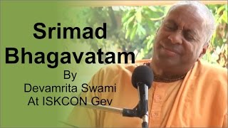 Srimad Bhagavatam 4 8 54 by Devamrita Swami 17 Oct 2015 at ISKCON GEV