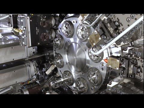 INDEX CNC-Mehrspindler MS40-8: Produktiver mit 8 Spindeln!