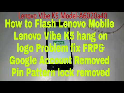 How to Repair Lenovo Vibe K5 A6020a40 \